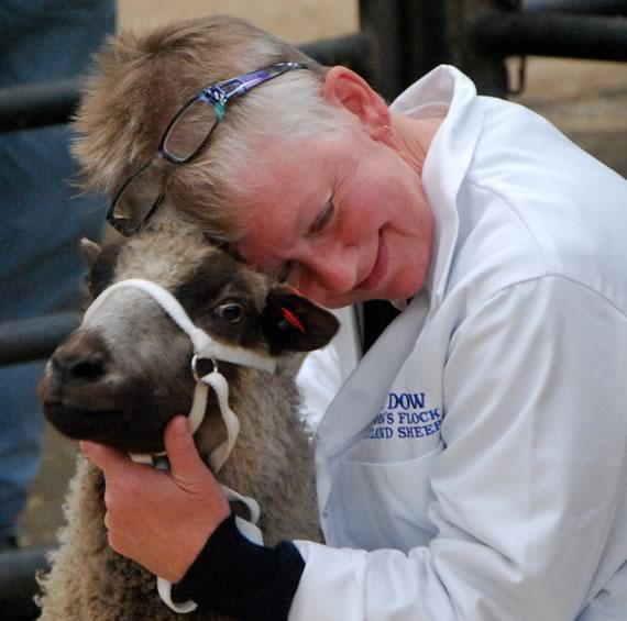Sheep hugger